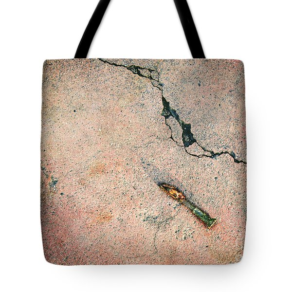 Found. One Screw Tote Bag by Meghan at FireBonnet Art