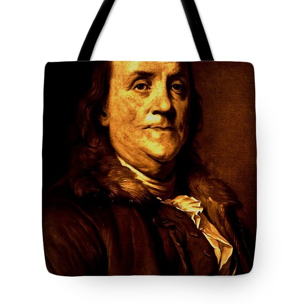Founding Father Tote Bag by Benjamin Yeager