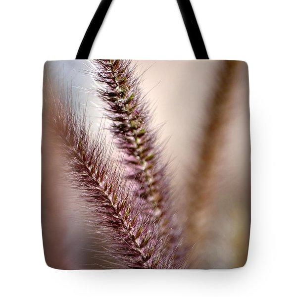 Fountain Grass Tote Bag by Deb Halloran