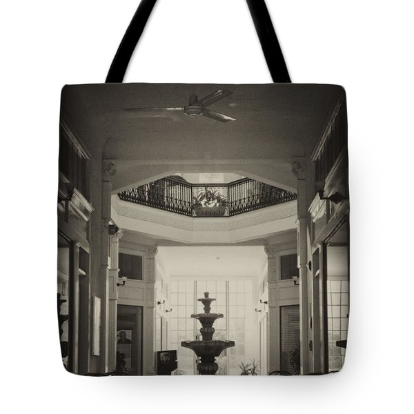 Fountain In The Light Tote Bag