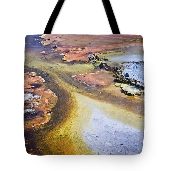 Fountain Paint Pot Tote Bag
