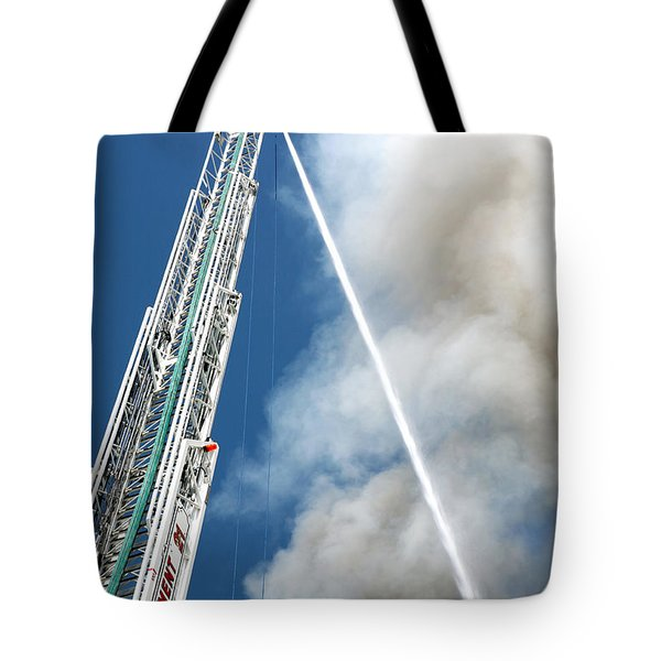 Four Alarm Blaze 001 Tote Bag