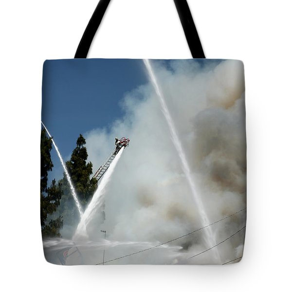 Four Alarm Blaze 003 Tote Bag