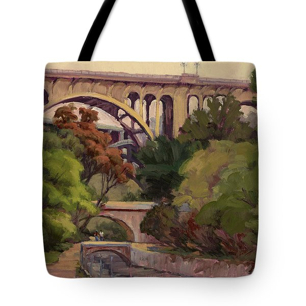 Four Bridges Tote Bag
