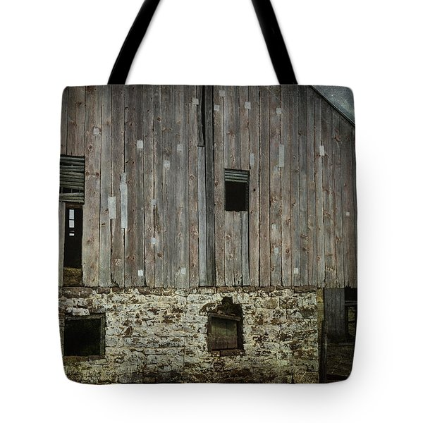 Four Broken Windows Tote Bag by Joan Carroll