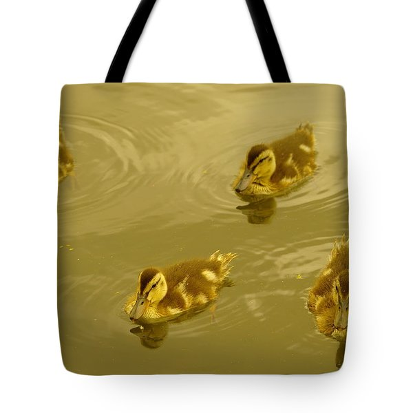 Four Duckies Tote Bag