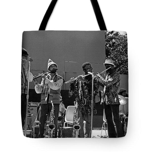 Four Flutes 2 Tote Bag