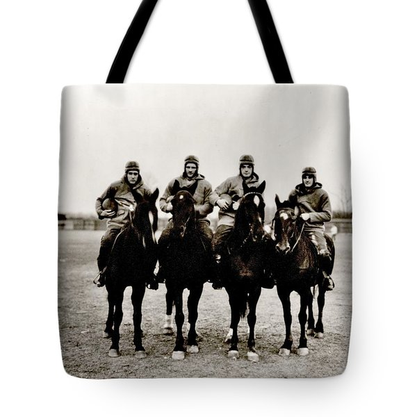 Four Horsemen Tote Bag