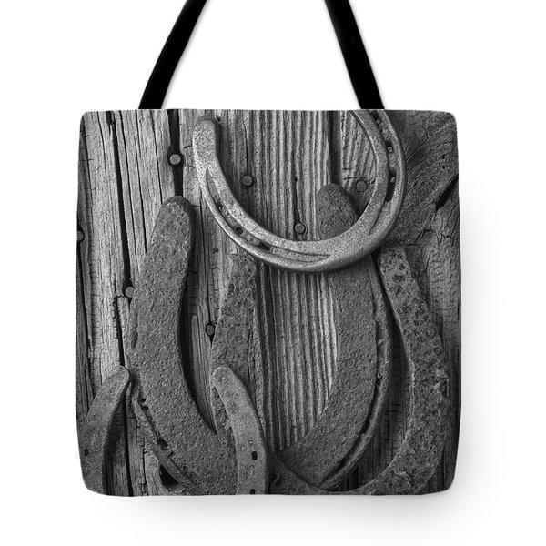 Four Horseshoes Tote Bag