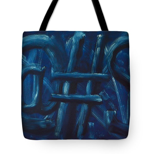 Four Letter Words Tote Bag by Shawn Marlow