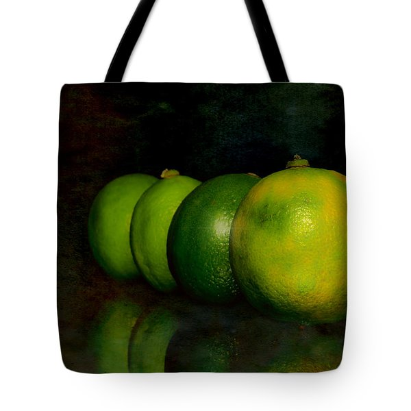 Four Limes Tote Bag