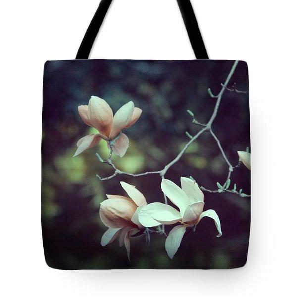 Four Magnolia Flower Tote Bag