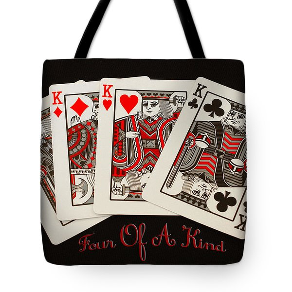 Tote Bag featuring the photograph Four Of A Kind by James C Thomas