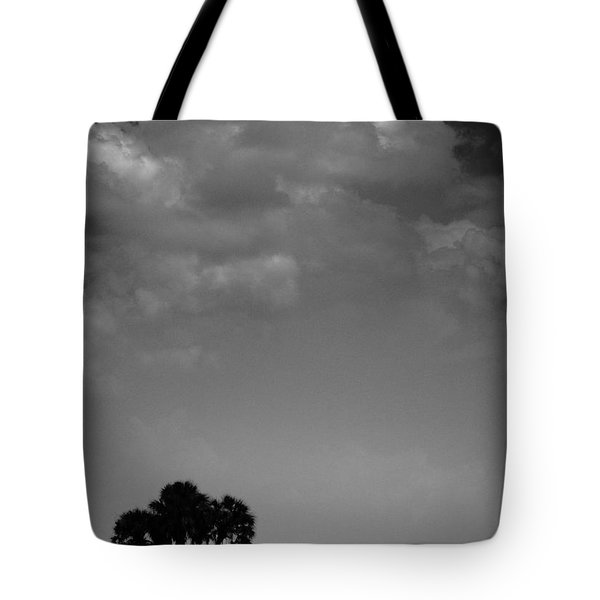 Four Palms Tote Bag by Bradley R Youngberg
