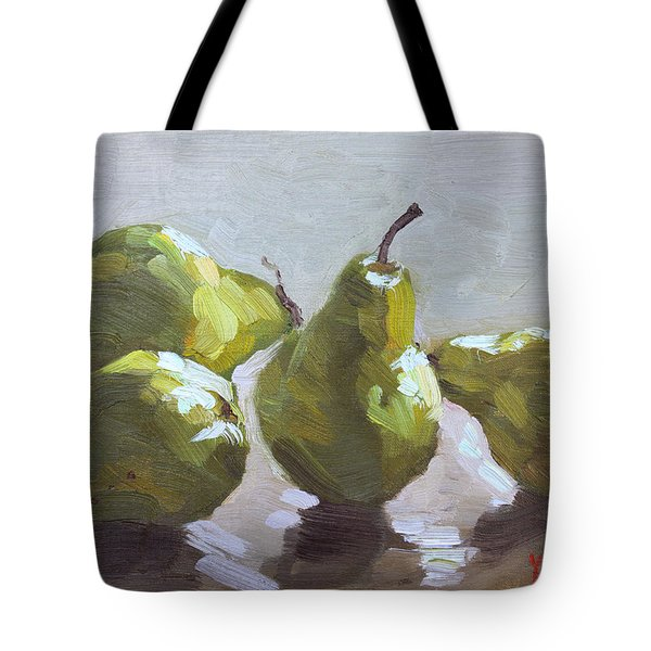 Four Pears Tote Bag