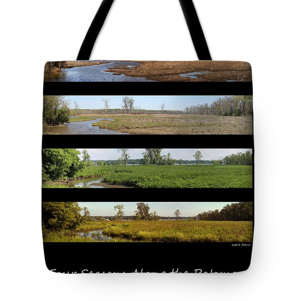 Four Seasons Along The Potomac Tote Bag