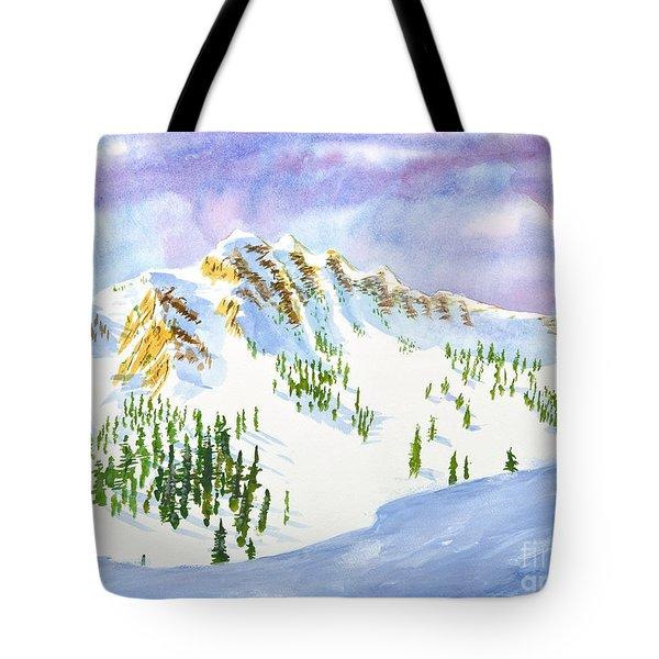Four Sisters At Snowbasin Tote Bag