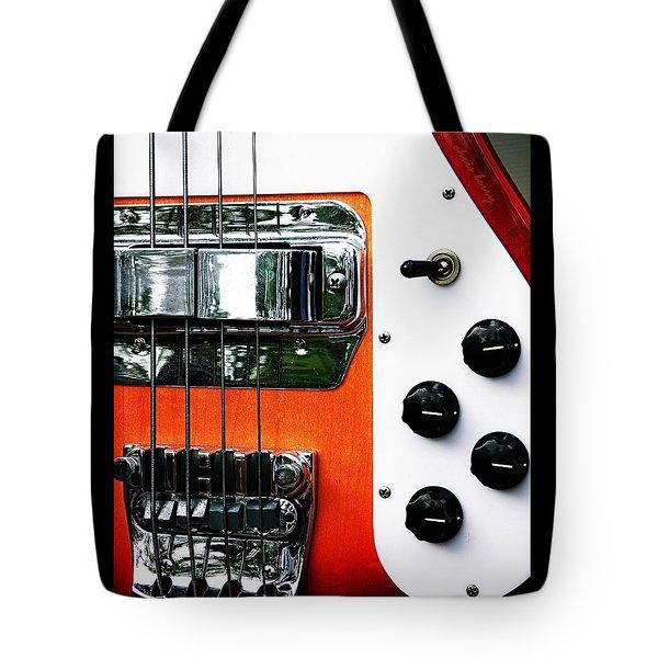 Four String Rickenbacker Bass  Tote Bag