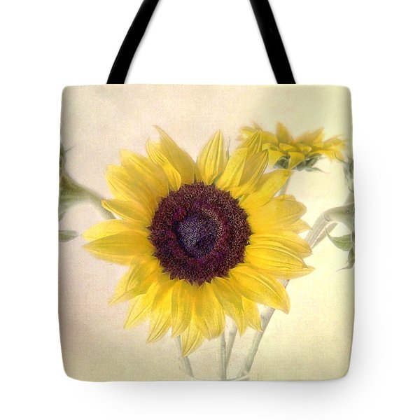 Hello Sunshine Tote Bag by Louise Kumpf
