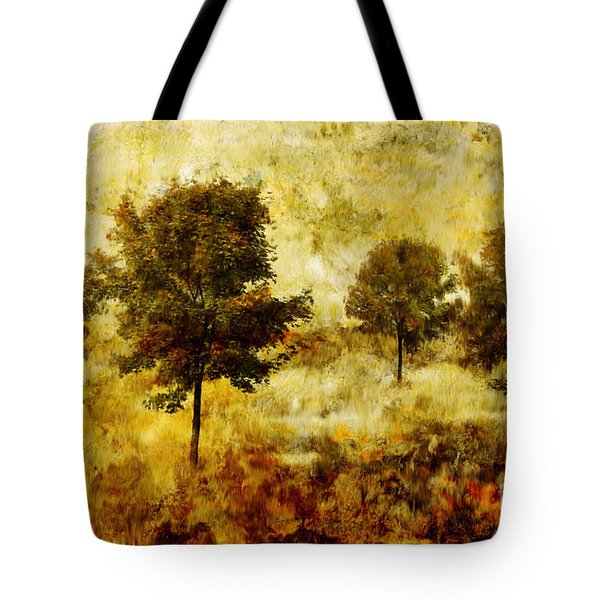 Four Trees Tote Bag by John Edwards
