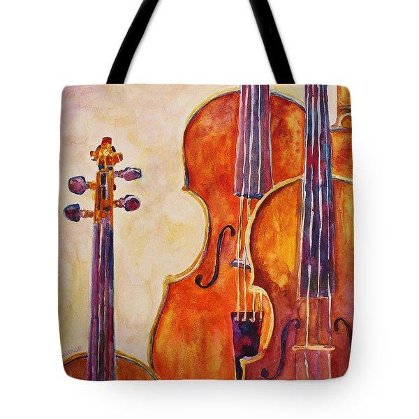 Four Violins Tote Bag