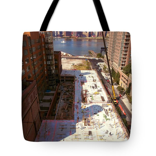 Fourth Floor Slab Tote Bag