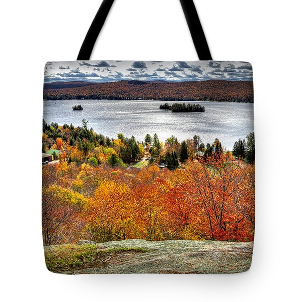 Fourth Lake From Above Tote Bag