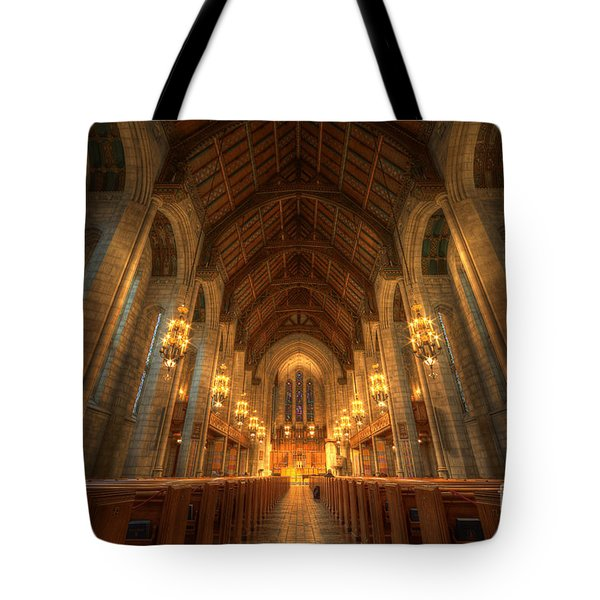 Fourth Presbyterian Church Chicago II Tote Bag