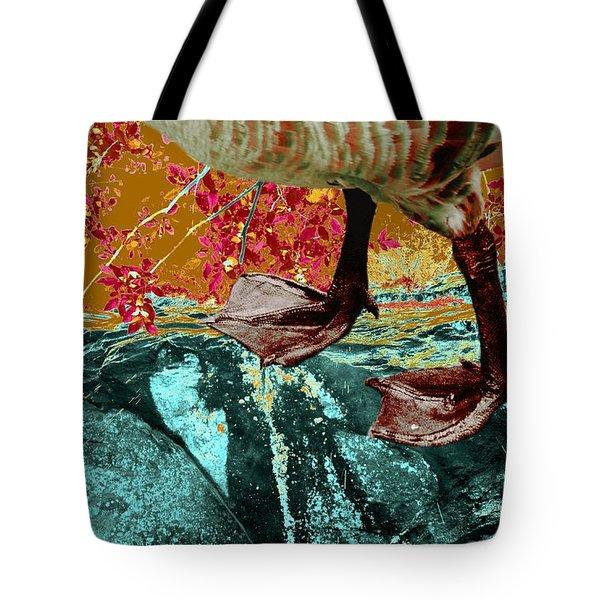 Fowl Weather Friend Tote Bag