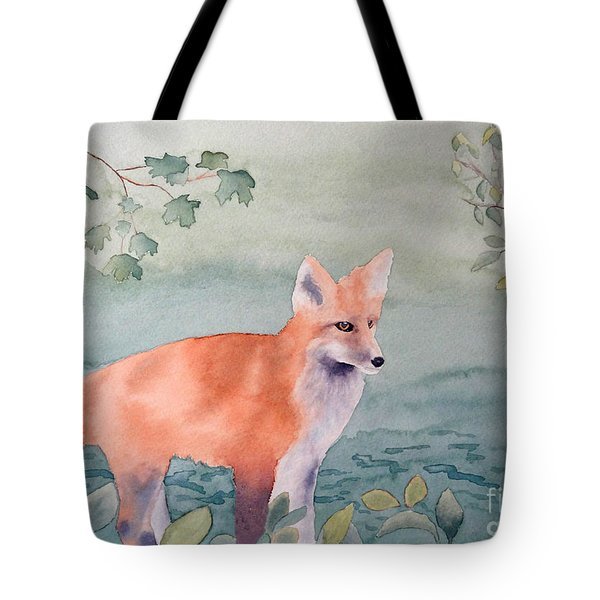 Fox And Birch Tote Bag