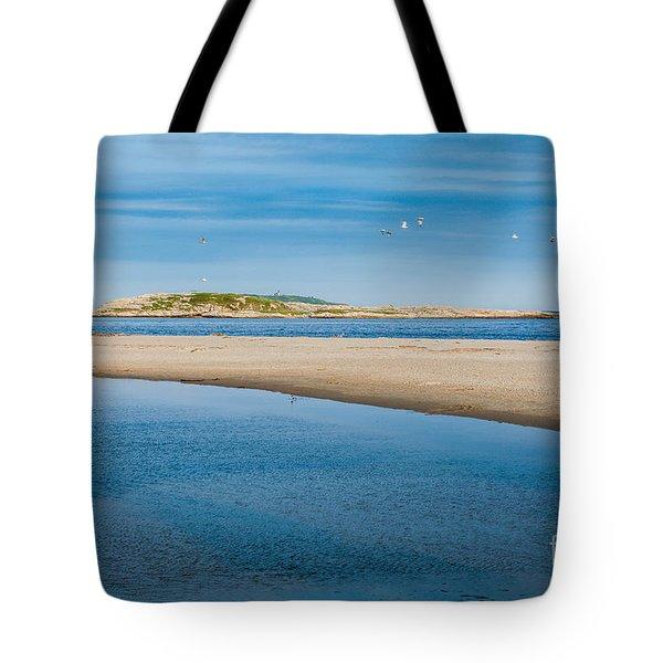 Fox Island Tote Bag by Susan Cole Kelly