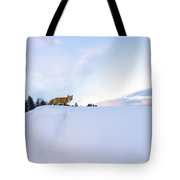 Fox Of The North IIi Tote Bag