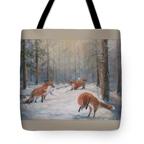 Forest Games Tote Bag