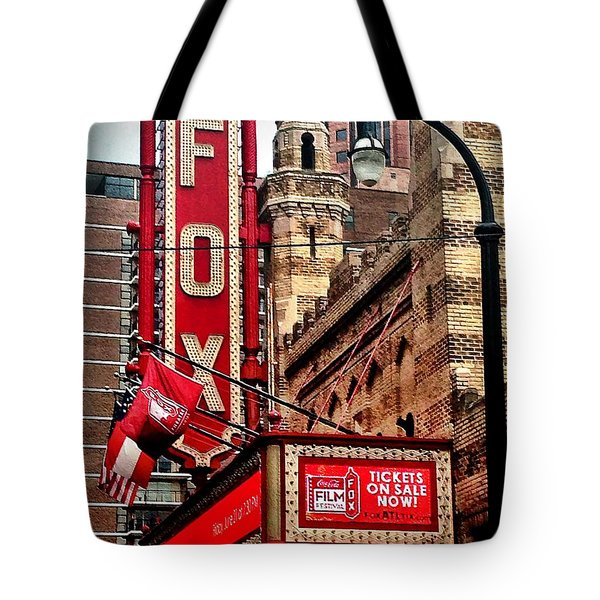 Fox Theater - Atlanta Tote Bag by Robert L Jackson