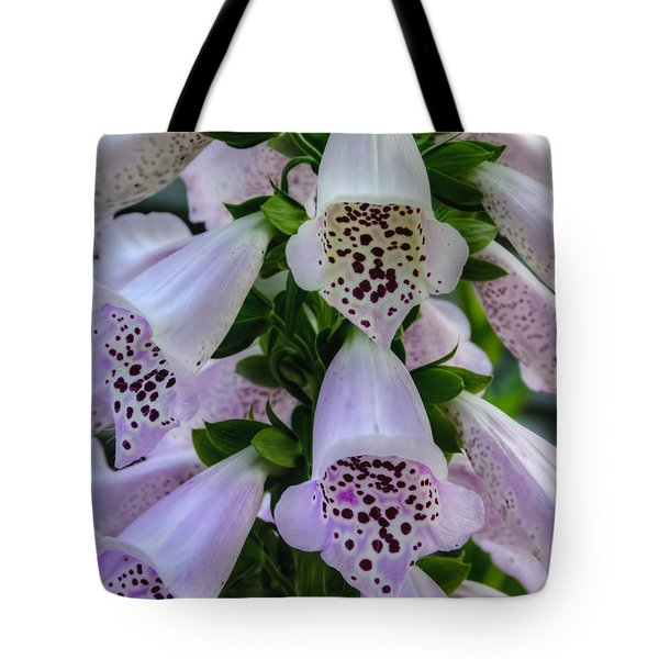 Foxglove At Waters Edge Tote Bag