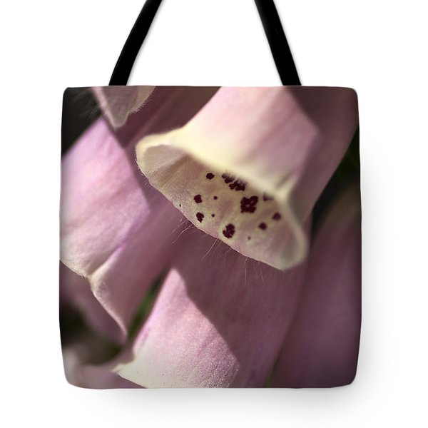 Tote Bag featuring the photograph Foxglove by Joy Watson