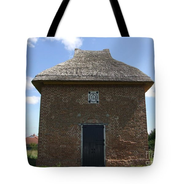 Tote Bag featuring the photograph Foxton Dovecote by Richard Reeve