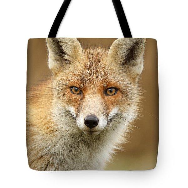 Foxy Face Tote Bag