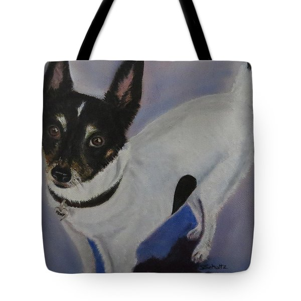 Foxy Tote Bag by Sharon Schultz