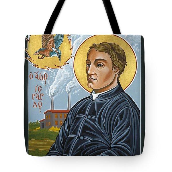 Fr. Gerard Manley Hopkins The Poet's Poet 144 Tote Bag