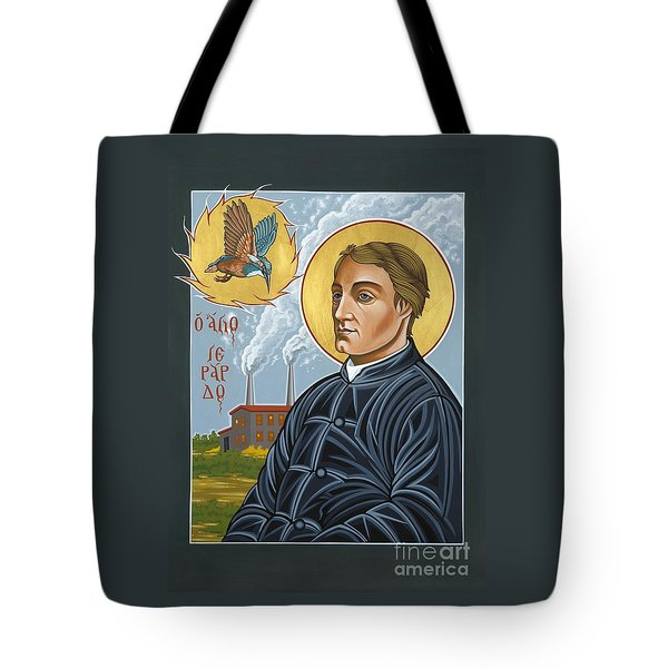 Fr. Gerard Manley Hopkins The Poet's Poet 144 Tote Bag