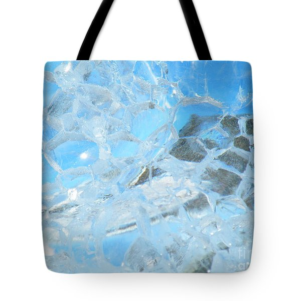 Tote Bag featuring the photograph Fracked  by Brian Boyle
