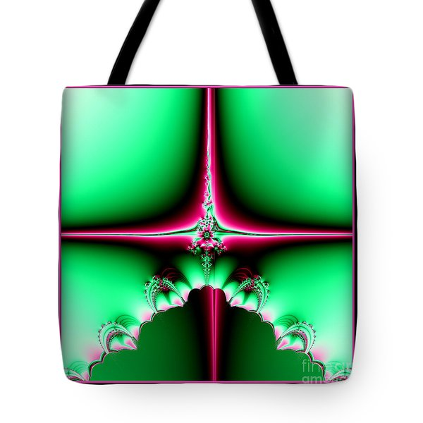 Fractal 14 Star Of Bethlehem  Tote Bag by Rose Santuci-Sofranko