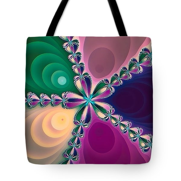 Tote Bag featuring the photograph Fractal Beauty 3 by Jack Torcello