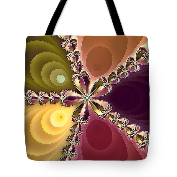 Tote Bag featuring the photograph Fractal Beauty 4 by Jack Torcello