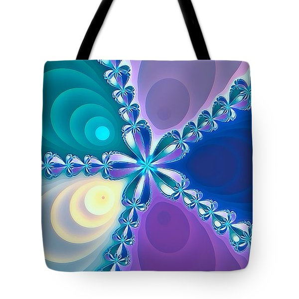 Tote Bag featuring the photograph Fractal Beauty 6 by Jack Torcello