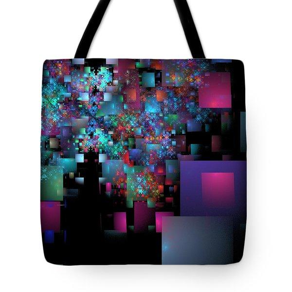 Fractal Confetti Tote Bag