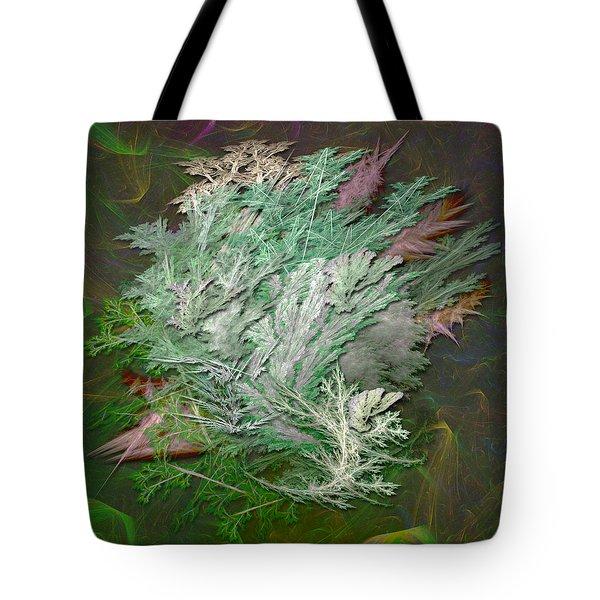 Fractal Ferns Tote Bag
