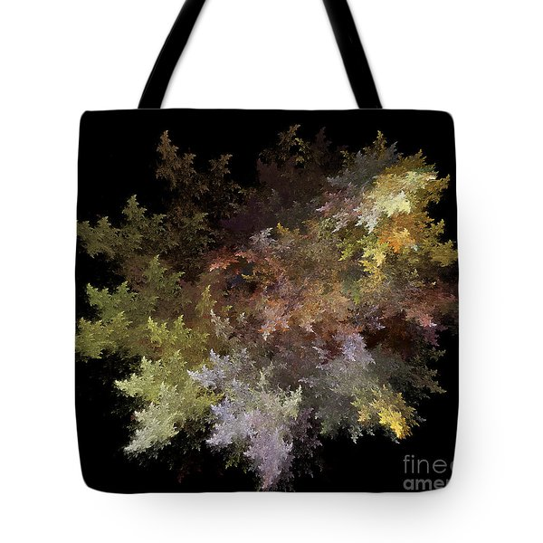 Fractal Flames Tote Bag by Scott Camazine