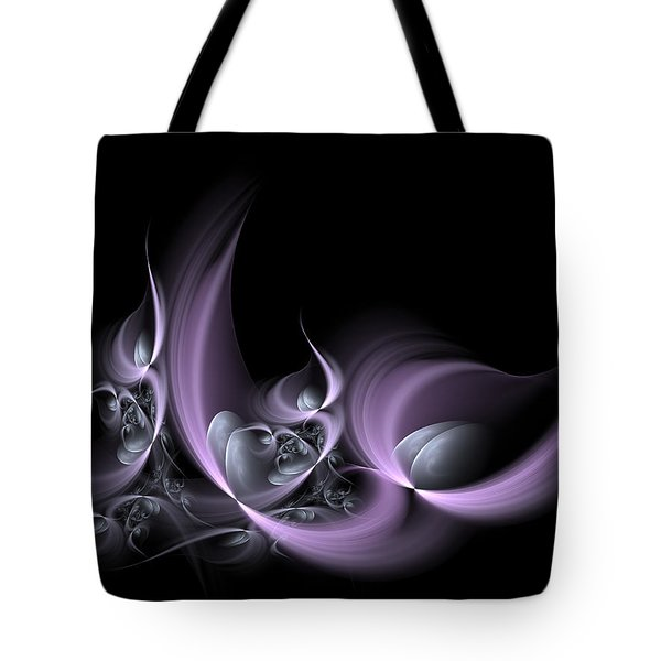 Fractal Fruits Tote Bag